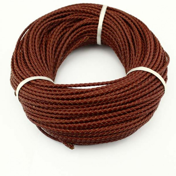 10 yards ,Genuine leather cord,wholesale jewelry making leather cord,fashion genuine leather cord,leather cord for bracelet,3.0mm-6.0mm,ETS-P021