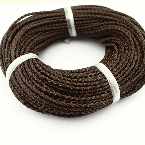 10 yards ,Wholesale jewelry making leather cord,genuine leather cord,fashion genuine leather cord,leather cord for bracelet,3.0mm-6.0mm,ETS-P022