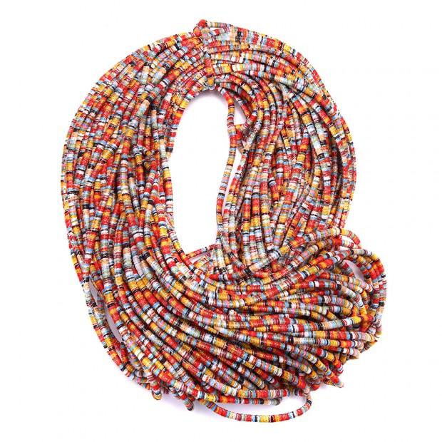 Aobei Pearl, 10 Yards from the Sale, 6 mm Bohemian Cloth Rope for Jewelry Making, DIY Jewelry Material, Cloth Cord for Necklace/Bracelet, Jewelry Finding, ETS-P168