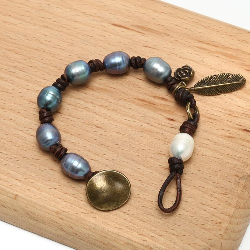 aobei pearl ets b475 handmade freshwater pearl beaded. Black Bedroom Furniture Sets. Home Design Ideas