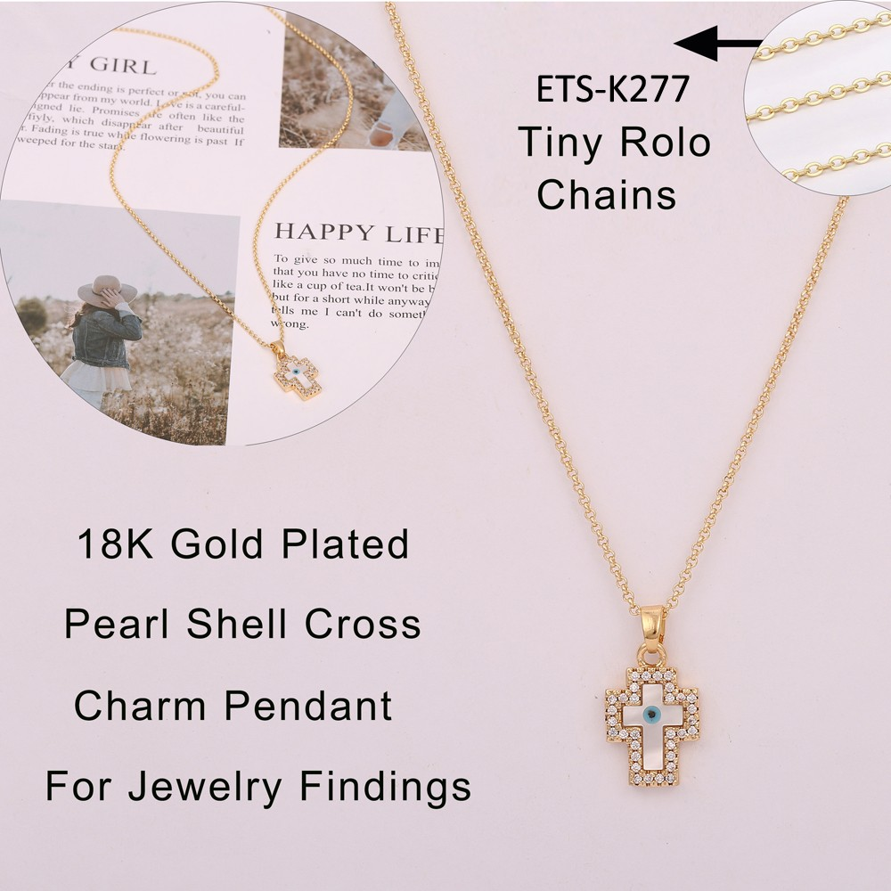 Gold charm charm gold charm jewelry findings charm no chain charm necklace- Gold jewelry
