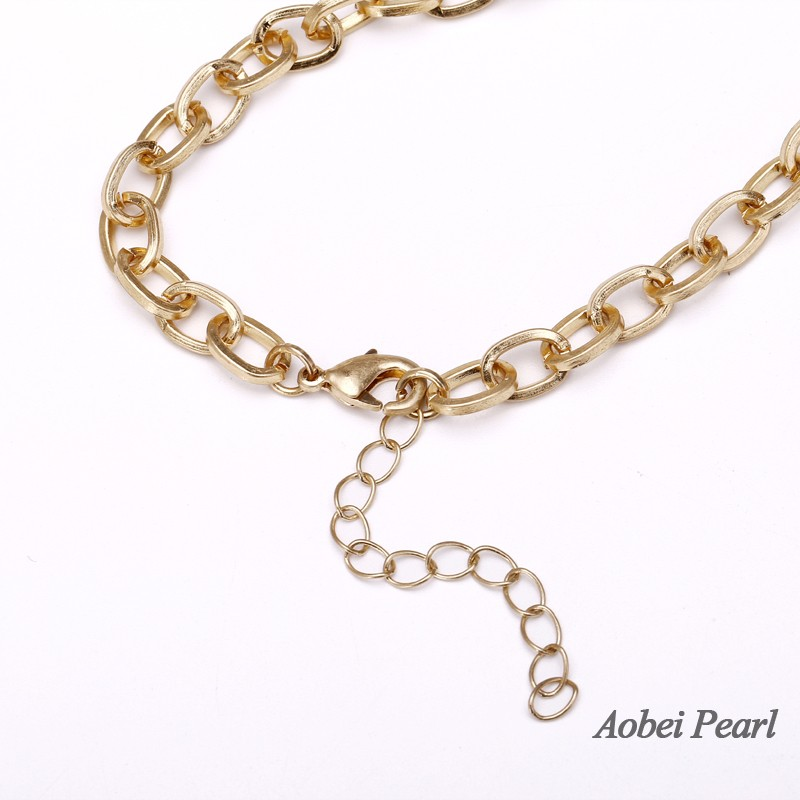 Aobei pearl personalized necklace made of natural stone pendant aobei pearl personalized necklace made of natural stone pendant and alloy accessory chain necklace pendant necklace ets s922 aloadofball Gallery
