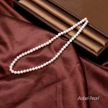 Aobei Pearl, 1 Strand from the Sale, 5-6 mm White Potato Freshwater Pearl, Jewelry Findings, Cultured Pearl, Jewelry Material, ETS-Z067