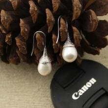 Aobei Pearl - Handmade Freshwater Pearl Earring, Drop Earring, ETS-E004