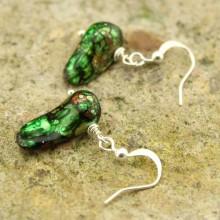 8-10 mm tail pearl earrings   ETS-E064