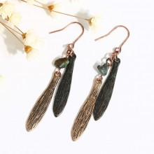 Vintage Wire Earrings High Quality Handmade Alloy Ear Pendant ETS-E143