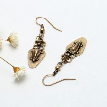 Aobei Pearl Beibei Design Handmade Personality Earring, 45 cm long, ETS-E209