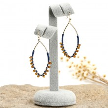 Aobei Pearl Handmade Beibei Design Personality Earring, ETS-E213