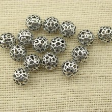 10 pcs , Bracelet accessories,jewelry finding,copper beads,beads for bracelet,nickel free lead free necklace beads,11.5mm beads for jewelry, ETS-K013
