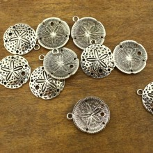20 pcs, 30 mm floral sign round button clasps, jewelry supplies, alloy findings, ETS - K047