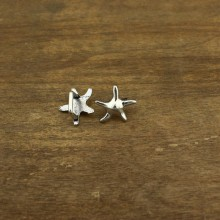 20 pcs, Sea star charm beads, alloy sea star findings, craft supplies, loose beads, ETS - K058