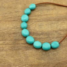 30 pcs , Large hole loose beads,turquoise beads,14mm*22mm loose beads,bracelet beads,jewelry beads,DIY jewelry beads, ETS-LB012