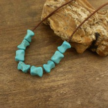 25 pcs per strand,Wholesale natural turquoise beads,10mm*13mm beads for jewelry making,beads supplier,cheap beads,gemstone beads, ETS-LB016