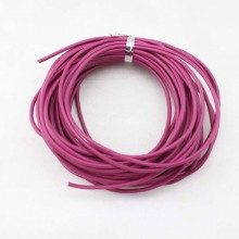 Round leather cord,pink leather cord,round leather cord,original leather color,natural leather cord,leather cord,10yards,ETS-P002