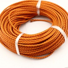 10 yards Round leather cord,4mm,5mm,6mm,Round Leather Cord supplies,Leather Cord Necklace,genuine leather cord,bracelet leather cord,ETS-P026
