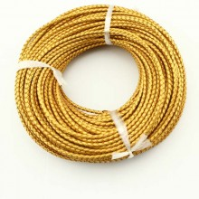 10 yards, Round Leather Cord,3.0mm,4.0mm,5.0mm,6.0mm leather cord for jewelry making,leather cord for bracelet,ETS-P028