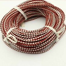 10yards Round leather cord,4mm,5mm,6mm,Round Leather Cord supplies,Leather Cord Necklace,genuine leather cord,bracelet leather cord,ETS-P029