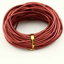 Genuine leather cord,wholesale jewelry making leather cord,fashion genuine leather cord,leather cord for bracelet,10 yards ,ETS-P037