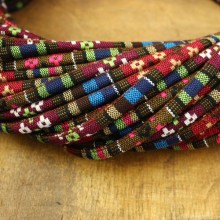 Aobei Peaerl, ETS-P081 Length 10 yards diameter 6 mm complex color cloth rope
