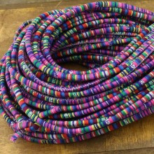 Aobei Pearl, ETS-P085, Length 10 yards diameter 6 mm complex color cloth rope