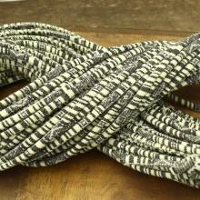 ETS-P086  Length 10 yards diameter 6mm gray cloth rope