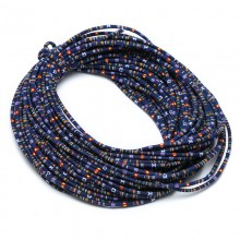 ETS-P088    Length 10 yards diameter 6 mm 4-color cloth rope