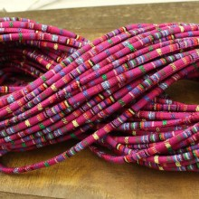 Aobei Pearl, ETS-P089, Length 10 yards diameter 6 mm complex color cloth rope