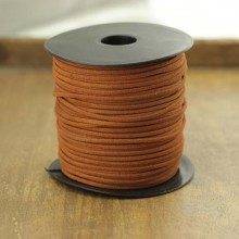 Aobei Pearl --- 100 Yards from the Sale, Korean Velvet Rope in Light Brown for Handmade Material or DIY Material, ETS-P102