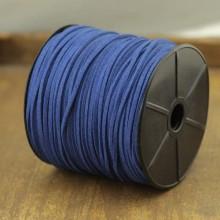 ETS-P107  Diameter 1.5 mm * 2.5 mm 100 yards blue Korean velvet