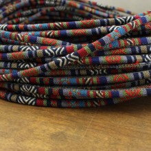 10 yards, Bohemian cord,Aztec Ethnic Rope Cord,tribal ethnic cotton rope,boho cotton rope,tribal rope for necklace,jewelry rope,ETS - P121