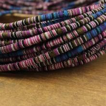 10 Yards, 6 mm bohemian cord, fabric cord, cloth cord, cotton cord, ETS - P122