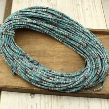 Aobei Pearl - 10 yards boho cotton rope,multi color cotton rope,ethnic cotton rope,cheap cotton rope,bohemian rope,fabric rope,wholesale.ETS-P126