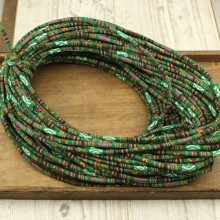 10 yards,Boho Fabric cotton rope,ethnic rope,bohemian cord,Embroidered rope,bohemian rope,wholesale cotton rope for bracelet,ETS-P127