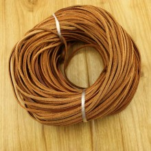 10 yards, Genuine leather cord,real leather cord,necklace cord,leather jewelry supplier,leather cord,wholesale leather cord,2mm*2.5mm,ETS-P129
