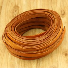 5 yards, Real flat leather cord,10mm*2mm genuine leather cord,leather string for jewelry making,leather finding,leather cord by yard,ETS-P130