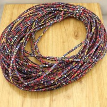 10 yards, New Fabric cotton sting,tribal cord,African Ethnic Fabric Cord,aztec cotton cord,chiffon fabric rope for making jewelry,5mm,ETS-P132