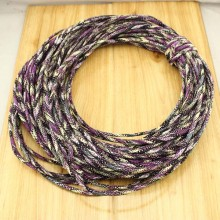 10 yards,Colorful tribal rope,bohemian rope,charm necklace rope,boho cotton rope,necklace cotton rope,fabrics cotton rope,5mm,ETS-P138 Inactive