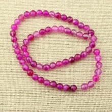 2 string of about 76 cm in length,   6 mm peach agate beads, jewelry supplies, loose beads, gemstone, wholesale, ETS - T063