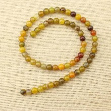 2 string of about 76 cm in length,  Mix coloring agate beads, round beads, wholesale, loose beads, gemstone, ETS - T066
