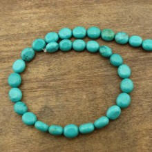 2 string of about 58 pcs, Beads supplier,natural beads,turquoise beads,wholesale turquoise beads,long beads for jewelry making,11mm*12.5mm beads,ETS-T112