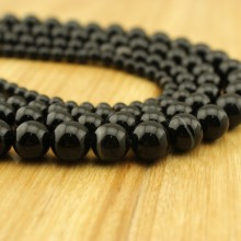 Aobei Pearl, 1 Strand from the Sale, Round Striped Agate Beads in 6 mm / 8 mm / 10 mm / 12 mm / 14 mm / 16 mm with 1.2 mm Hole, ETS-TD049