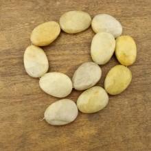 11 pcs for one strand, 25 mm * 35 mm Rotating topaz beads, gemstone beads, beads in bulk, ETS - TZ009