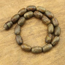 20 pcs for one strand, 10 mm * 20 mm barrel natural stone beads, loose beads, wholesale, ETS - TZ015