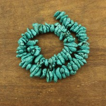Aobei Pearl, 1 Strand from the Sale, 11-17 mm * 16-25 mm Baroque Turquoise Beads, Gemstone Beads, Jewelry Findings, ETS-TZ021-2