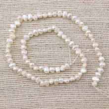 Baroque pearl strand,freshwater pearl strands,one full strand,pearl jewelry,necklace pearl beads,4-5mm genuine pearls,ETS-Z065