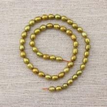 Rice pearl strand,wholesale pearl strand,freshwater pearl strand,pearl jewelry,6-7mm pearl strand,ETS-Z070