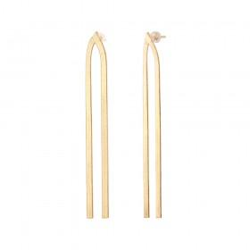 Aobei Pearl ,18K gold-plated tassel earrings,hypoallergenic earring nuts,accessories earrings,Jewelry for Women,fashion ladies gifts ETS-E321