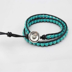 6-7 mm turquoise bracelets by hand  ETS-B0041