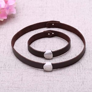 Aobei Pearl Hammered Freshwater Pearl, Alloy Accessories & Korean Velvet Choker Necklace & Bracelet, Jewelry Set, ETS-S601