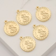 Free Ship 360 pieces gold plated tree charms  21x14mm #157
